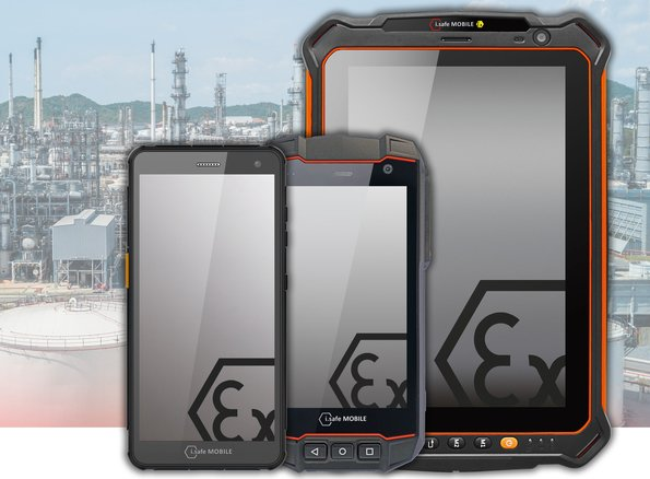 Software-Upgrade für i.safe MOBILE IS530.x, IS655.x und IS930.x